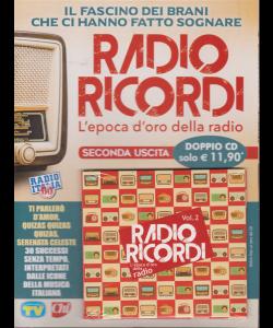 Cd Sorrisi Canzoni - Radio Ricordi Vol.2 - doppio cd - febbraio 2019 -