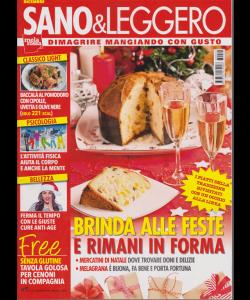 Sano & Leggero - n. 12 - dicembre 2018 - mensile