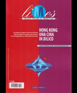 Limes - Hong Kong Una Cina In bilico - n. 9 - mensile - 11/10/2019