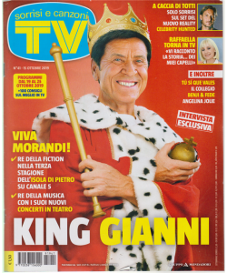 Sorrisi E Canzoni Tv - n. 41 - 15 ottobre 2019 - settimanale