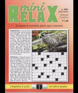 Mini Relax - n. 1951 - settimanale - 15/10/2019 -