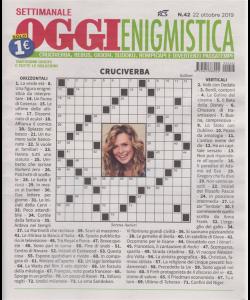 Settimanale Oggi Enigmistica - n. 42 - 22 ottobre 2019 -