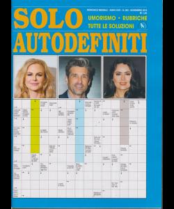 Solo Autodefiniti - n. 283 - mensile - novembre 2019 -