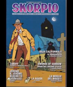 Skorpio - n. 2224 - 17 ottobre 2019 - settimanale di fumetti