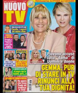 Nuovo Tv - n. 43 - settimanale - 28 ottobre 2019