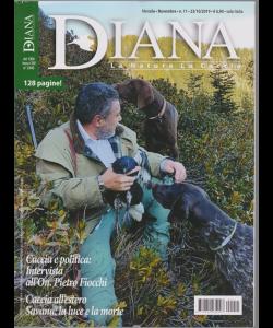 Diana - La Natura La Caccia - n. 11 - mensile - novembre 2019 - 128 pagine!