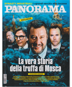 Panorama - n. 44 - 23 ottobre 2019 - settimanale