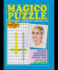 Magico puzzle - n. 306 - mensile - novembre 2019 - 100 pagine