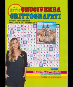 Cruciverba crittografati - n. 306 - novembre 2019 - mensile - più di cento giochi