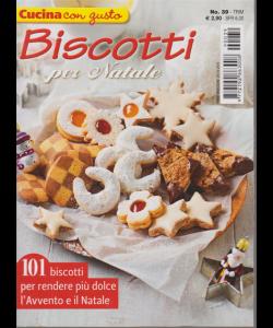 Cucina Con Gusto - Biscotti Per Natale - n. 39 - trimestrale - 24/10/2019