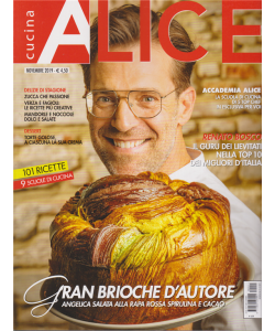 Alice Cucina - n. 11 - mensile - novembre 2019 -