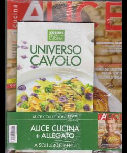 Alice Cucina Gadget - Universo Cavolo - I colori della cucina - n. 11 - novembre 2019 - 2 riviste
