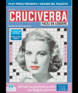Cruciverba facili da leggere - n. 23 - bimestrale - 22/10/2019 -Grace Kelly