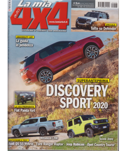 La Mia Auto 4X4 - n. 6 - novembre - dicembre 2019 - bimestrale
