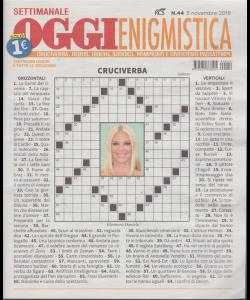Settimanale Oggi Enigmistica - n. 44 - novembre 2019 -
