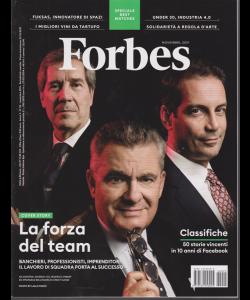 Forbes - n. 25 - novembre 2019 - mensile