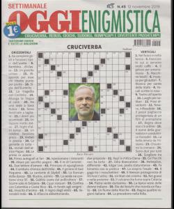 Settimanale Oggi Enigmistica - n. 45 - 12 novembre 2019 -