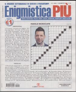 Enigmistica Piu' - n. 45 - 12 novembre 2019 - settimanale