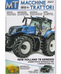 MT Macchine Trattori - Mensile n. 199 - Novembre 2019