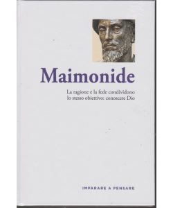Imparare a pensare - Maimonide - n. 42 - settimanale - 8/11/2019 - copertina rigida
