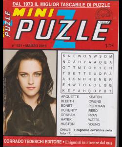 Mini puzzle - n. 521 - marzo 2019 - mensile -