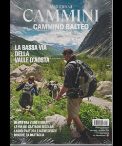 Meridiani Cammini - Cammino Balteo -n. 3 - novembre - dicembre 2019 - trimestrale + Carta 1:50.000