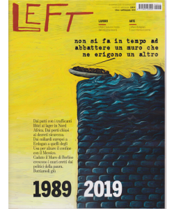 Left Avvenimenti - n. 45 - 8 novembre 2019 - 14 novembre 2019 - settimanale