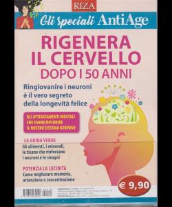 Riza - Gli speciali AntiAge - n. 19 - novembre 2019 - Rigenera il cervello dopo i 50 anni