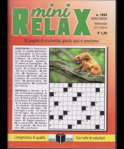 Mini Relax - n. 1955 - settimanale - 12/11/2019