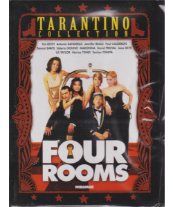 I Dvd Di Sorrisi4 - Four Rooms - Tarantino collection - Nona uscita - n. 34 - settimanale - 12/11/2019