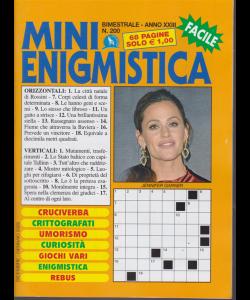 Mini Enigmistica - n. 200 - bimestrale - 68 pagine - dicembre - gennaio 2020