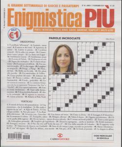 Enigmistica Piu' - n. 46 - 19 novembre 2019 - settimanale
