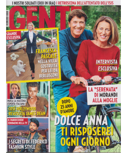 Gente - n. 46 - 23/11/2019 - settimanale