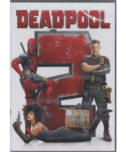 I dvd fiction di Sorrisi 2 - n. 8 -  Deadpool -  settimanale - 12 febbraio 2019