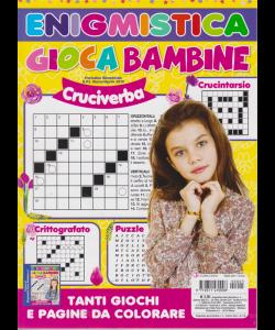 Enigmistica Gioca Bambine -n. 5 - bimestrale - marzo - aprile 2019 -
