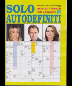 Solo Autodefiniti - n. 284 - mensile - dicembre 2019 -
