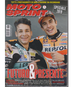 Motosprint -n. 47 - settimanale - 19/25 novembre 2019 - 2 riviste