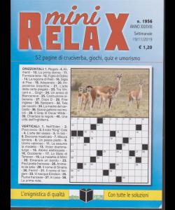 Mini Relax - n. 1956 - settimanale - 19/11/2019 -