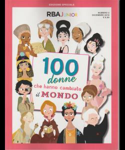 Speciale RBA Junior:  dicembre 2019 - 100 Donne che hanno cambiato il mondo