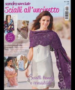 Sandra Speciale - Scialli All'uncinetto - n. 9 - trimestrale - 14/3/2019