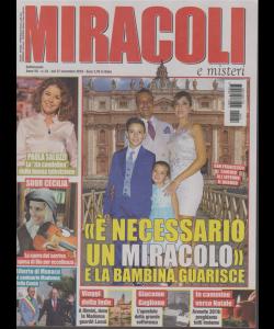 Miracoli e Misteri - n. 24 - 27 novembre 2019 - settimanale