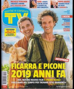 Sorrisi e canzoni tv - n. 48 - 3 dicembre 2019 - settimanale