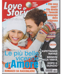 Love story - n. 49 - 10 dicembre 2019 - settimanale