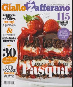 Giallo Zafferano -n. 4 - mensile - aprile 2019 -