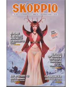 Skorpio - n. 2231 - 5 dicembre 2019 - settimanale di fumetti