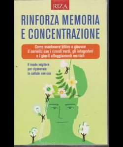 Riza Antiage- Rinforza memoria e concentrazione - n. 20 - dicembre 2019 -