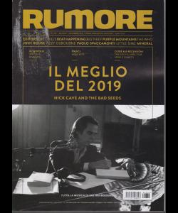 Rumore - Il Meglio del 2019 - n. 335 - mensile - dicembre 2019