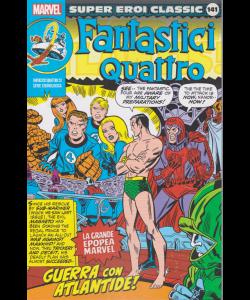 Super Eroi Classic - Fantastici quattro - n. 141 - settimanale - Guerra con Atlantide!
