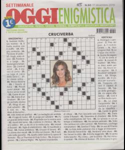 Settimanale Oggi Enigmistica - n. 50 - 17 dicembre 2019 -