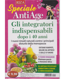 Speciale antiage - n. 11 - marzo 2019 -